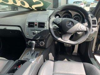 2008 Mercedes-Benz C-Class W204 C63 AMG Black 7 Speed Sports Automatic Sedan