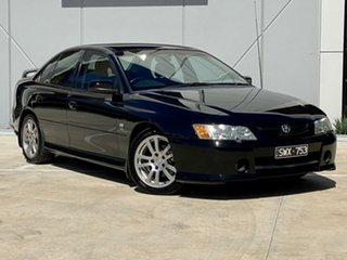 2004 Holden Commodore VY II S Black 4 Speed Automatic Sedan.