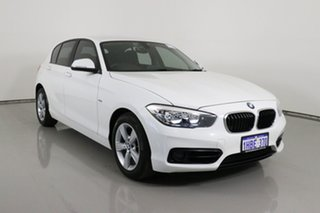 2016 BMW 118i F20 LCI Sport Line White 8 Speed Automatic Hatchback.