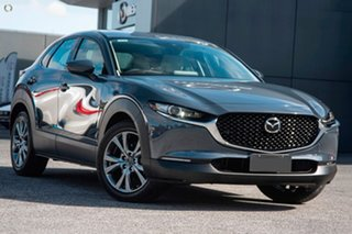 2021 Mazda CX-30 DM4WLA G25 SKYACTIV-Drive i-ACTIV AWD Astina Grey 6 Speed Sports Automatic Wagon.