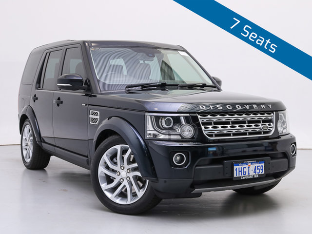 Used Land Rover Discovery MY14 3.0 SDV6 HSE, 2014 Land Rover Discovery MY14 3.0 SDV6 HSE Mariana Black Pearl 8 Speed Automatic Wagon