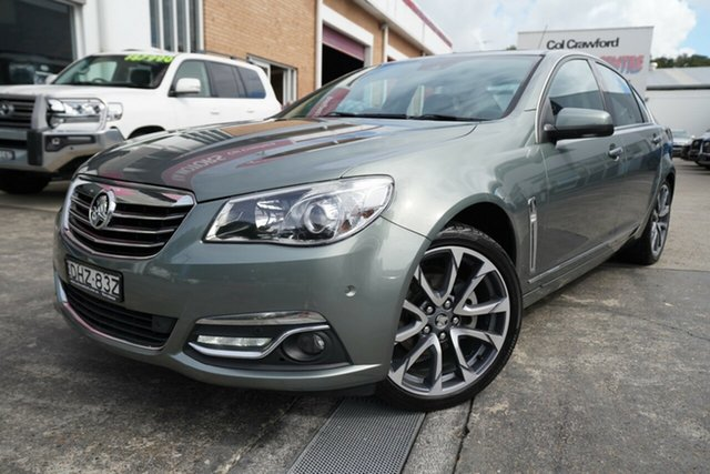 Used Holden Calais VF II MY16 V Narrabeen, 2016 Holden Calais VF II MY16 V Grey 6 Speed Sports Automatic Sedan