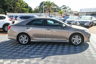 2012 Toyota Camry ASV50R Atara S Bronze 6 Speed Sports Automatic Sedan.