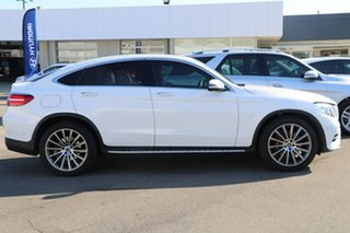 2018 Mercedes-Benz GLC-Class C253 808MY GLC250 Coupe 9G-Tronic 4MATIC White 9 Speed Sports Automatic