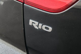 2016 Kia Rio UB MY16 S Black 6 Speed Manual Hatchback