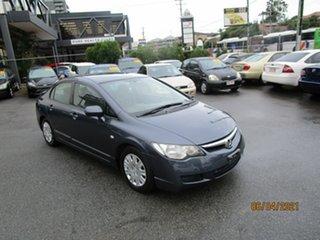 2008 Honda Civic MY07 VTi Grey 5 Speed Automatic Sedan.