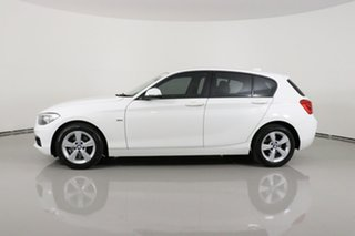 2016 BMW 118i F20 LCI Sport Line White 8 Speed Automatic Hatchback