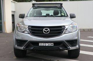 2018 Mazda BT-50 UR0YG1 XT Aluminium 6 Speed Sports Automatic Utility