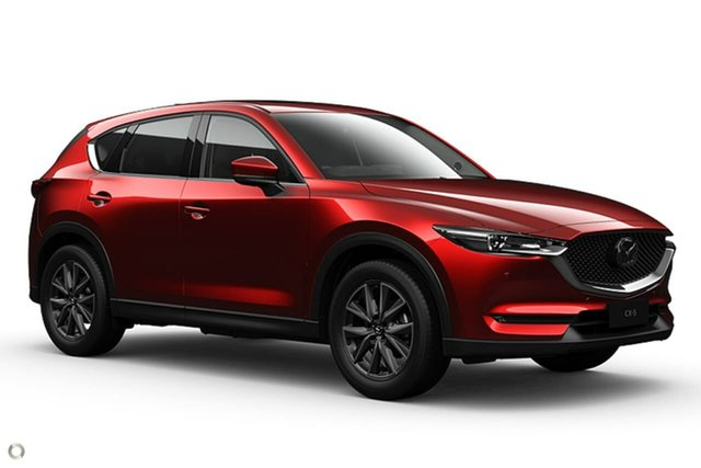 New Mazda CX-5 KF4WLA GT SKYACTIV-Drive i-ACTIV AWD Waitara, 2021 Mazda CX-5 KF4WLA GT SKYACTIV-Drive i-ACTIV AWD Red 6 Speed Sports Automatic Wagon