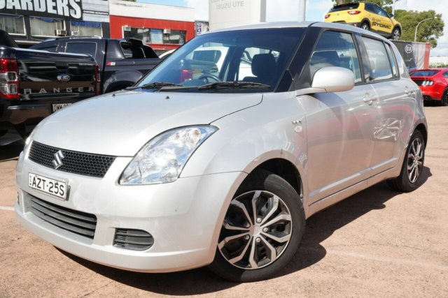 Used Suzuki Swift EZ Brookvale, 2006 Suzuki Swift EZ Silver 4 Speed Automatic Hatchback