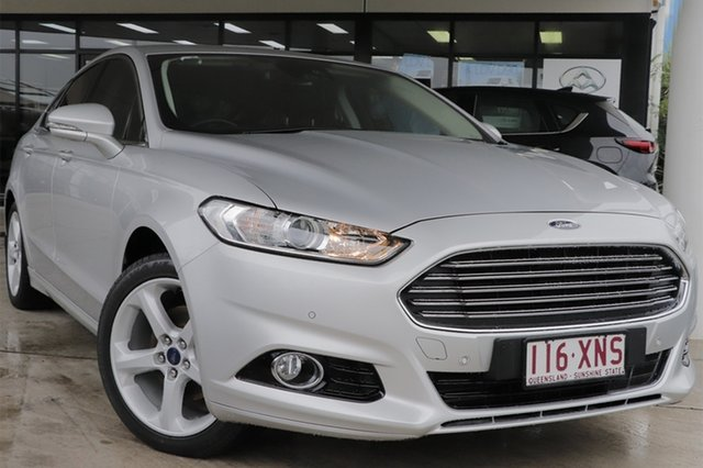 Used Ford Mondeo MD 2017.50MY Trend Rocklea, 2017 Ford Mondeo MD 2017.50MY Trend Moondust Silver 6 Speed Sports Automatic Dual Clutch Hatchback