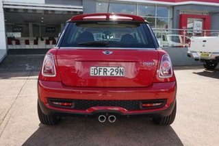 2012 Mini Cooper R56 MY12 S Red 6 Speed Automatic Hatchback