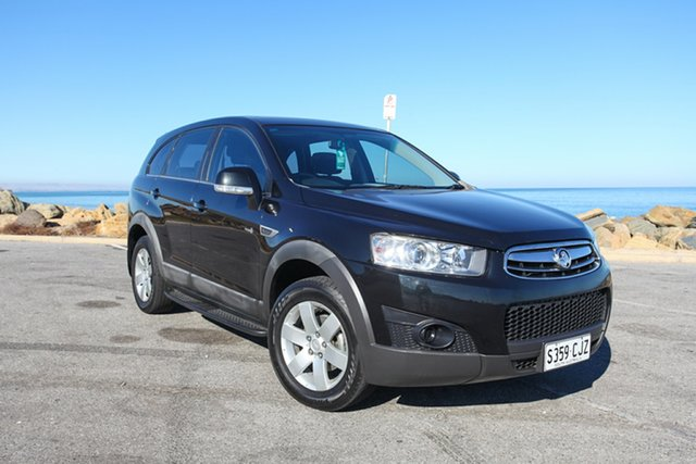 Used Holden Captiva CG Series II 7 SX Lonsdale, 2011 Holden Captiva CG Series II 7 SX Black 6 Speed Sports Automatic Wagon