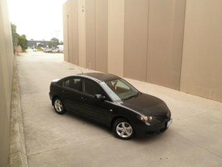 2004 Mazda 3 BK10F1 Maxx Black Quartz 4 Speed Sports Automatic Sedan
