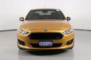 2015 Ford Falcon FG X XR6T Gold 6 Speed Manual Sedan.