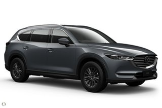 2021 Mazda CX-8 KG2WLA Sport SKYACTIV-Drive FWD Grey 6 Speed Sports Automatic Wagon