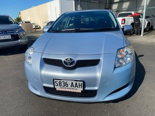 2008 Toyota Corolla ZRE152R Ascent Blue 4 Speed Automatic Hatchback