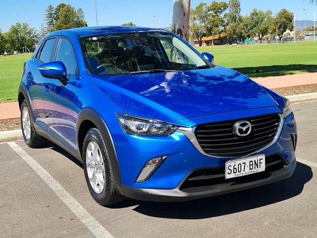 Used Mazda CX-3 DK2W7A Maxx SKYACTIV-Drive Nailsworth, 2016 Mazda CX-3 DK2W7A Maxx SKYACTIV-Drive Blue 6 Speed Sports Automatic Wagon