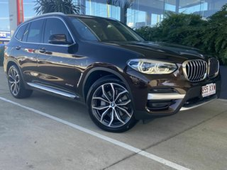 2017 BMW X3 Brown 8 Speed Auto Active Sequential Wagon.