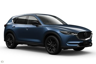 2021 Mazda CX-5 KF4WLA GT SKYACTIV-Drive i-ACTIV AWD SP Blue 6 Speed Sports Automatic Wagon.