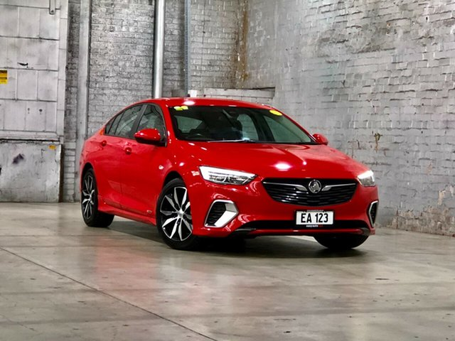 Used Holden Commodore ZB MY18 RS Liftback AWD Mile End South, 2018 Holden Commodore ZB MY18 RS Liftback AWD Red 9 Speed Sports Automatic Liftback
