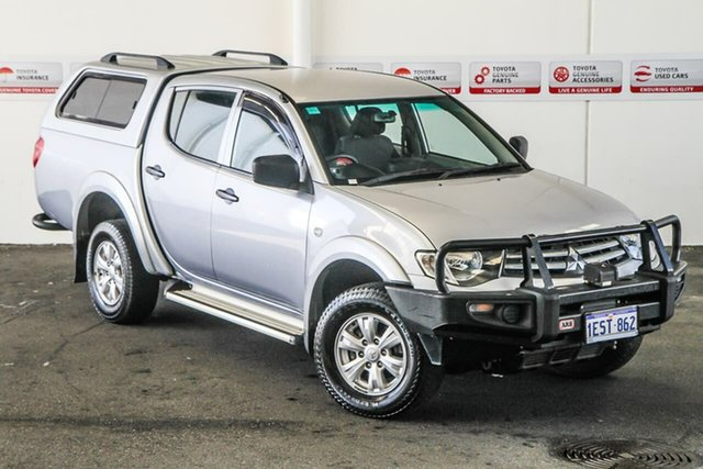 Pre-Owned Mitsubishi Triton MN MY15 GLX (4x4) Rockingham, 2015 Mitsubishi Triton MN MY15 GLX (4x4) 5 Speed Manual 4x4 Double Cab Utility