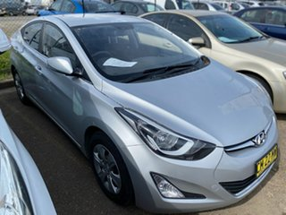 2015 Hyundai Elantra MD3 Active Silver 6 Speed Sports Automatic Sedan.