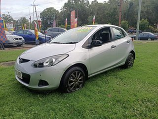2007 Mazda 2 DE10Y1 Neo Silver 5 Speed Manual Hatchback