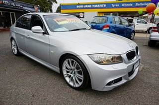 2011 BMW 3 Series E90 MY1011 320d Steptronic Lifestyle Titanium Silver 6 Speed Sports Automatic