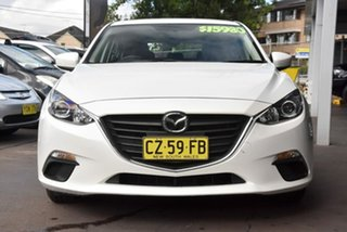 2015 Mazda 3 BM5276 Neo SKYACTIV-MT White 6 Speed Manual Sedan