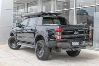 2017 Ford Ranger PX MkII 2018.00MY Wildtrak Double Cab Black 6 Speed Manual Utility