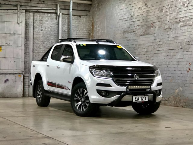 Used Holden Colorado RG MY20 Storm Pickup Crew Cab Mile End South, 2019 Holden Colorado RG MY20 Storm Pickup Crew Cab White 6 Speed Sports Automatic Utility