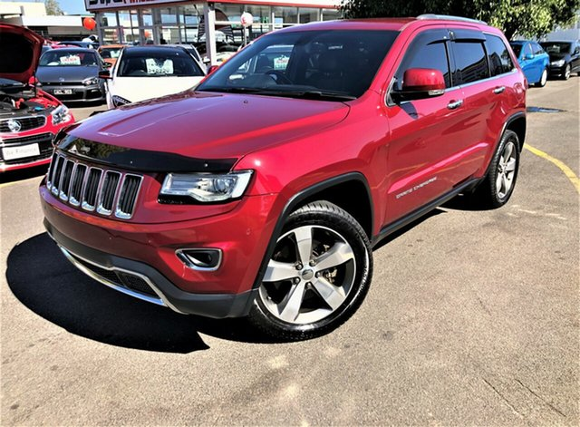 Used Jeep Grand Cherokee WK MY15 Limited Seaford, 2015 Jeep Grand Cherokee WK MY15 Limited Red 8 Speed Sports Automatic Wagon