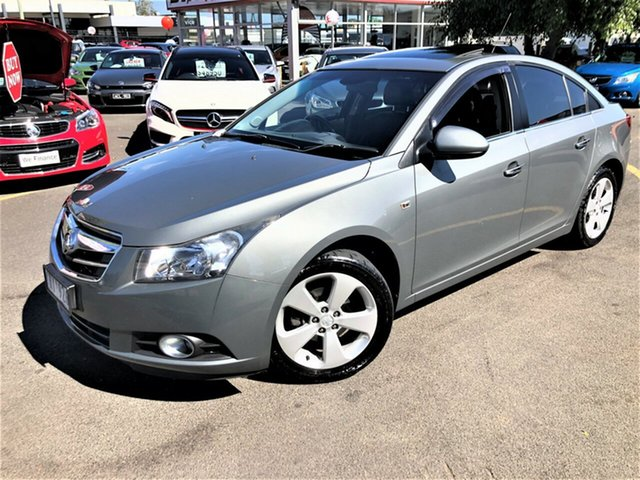 Used Holden Cruze JG CDX Seaford, 2011 Holden Cruze JG CDX Grey 5 Speed Manual Sedan