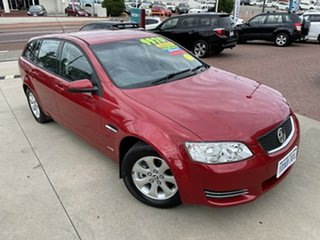2012 Holden Commodore VE II MY12.5 Omega Red 6 Speed Automatic Sportswagon.