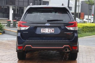 2020 Subaru Forester S5 MY21 2.5i Sport CVT AWD Dark Blue 7 Speed Constant Variable Wagon