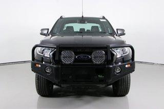 2015 Ford Ranger PX MkII Wildtrak 3.2 (4x4) Black 6 Speed Manual Dual Cab Pick-up.