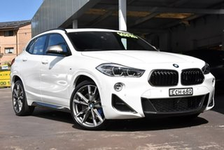 2019 BMW X2 F39 M35i Coupe Steptronic AWD White 8 Speed Sports Automatic Wagon.