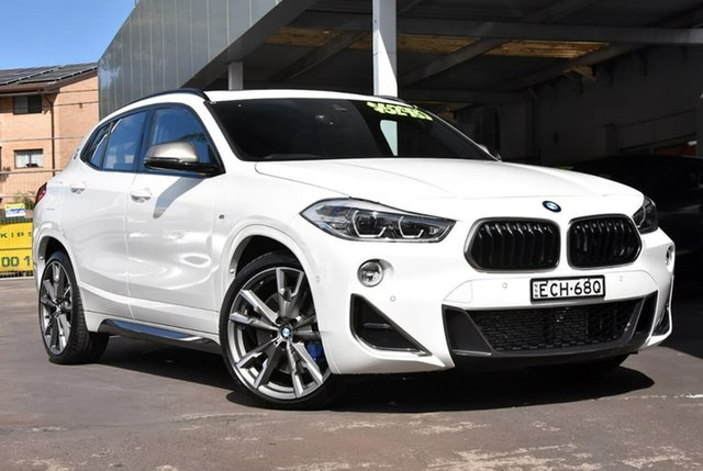 Used BMW X2 F39 M35i Coupe Steptronic AWD Waitara, 2019 BMW X2 F39 M35i Coupe Steptronic AWD White 8 Speed Sports Automatic Wagon