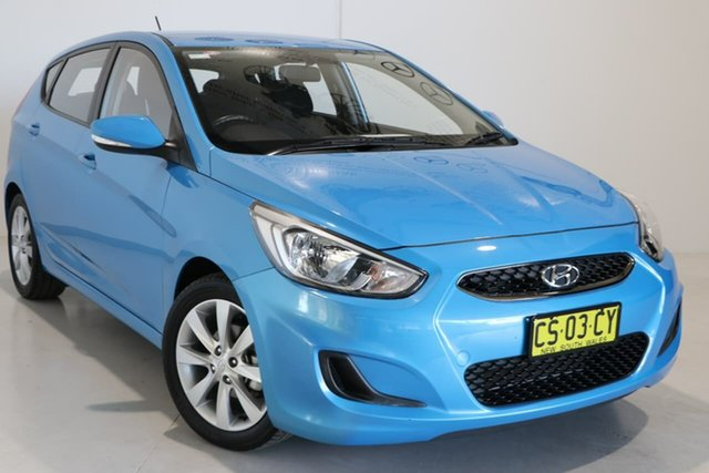 Used Hyundai Accent RB6 MY19 Sport Wagga Wagga, 2018 Hyundai Accent RB6 MY19 Sport Blue 6 Speed Sports Automatic Hatchback