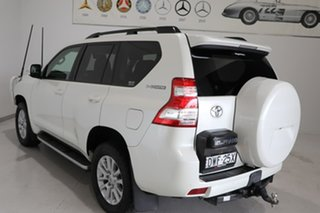 2017 Toyota Landcruiser Prado GDJ150R Kakadu White 6 Speed Sports Automatic Wagon.