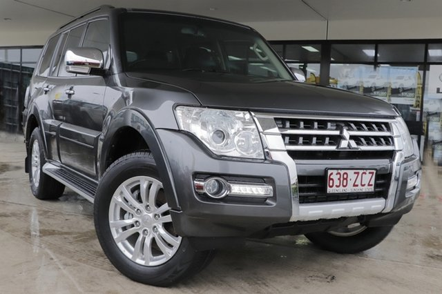 Used Mitsubishi Pajero NX MY17 GLX Rocklea, 2017 Mitsubishi Pajero NX MY17 GLX Graphite 5 Speed Sports Automatic Wagon