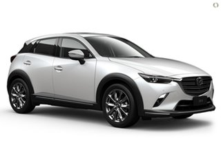 2021 Mazda CX-3 DK2W7A Akari SKYACTIV-Drive FWD LE White 6 Speed Sports Automatic Wagon