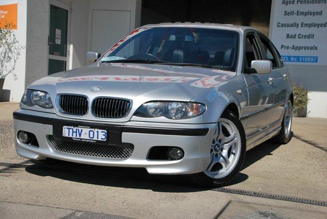 Used BMW 318i E46 Executive Wendouree, 2004 BMW 318i E46 Executive Silver 5 Speed Auto Steptronic Sedan