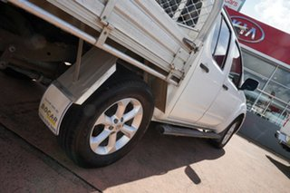 2012 Nissan Navara D40 MY12 ST (4x2) White 6 Speed Manual Dual Cab Pick-up