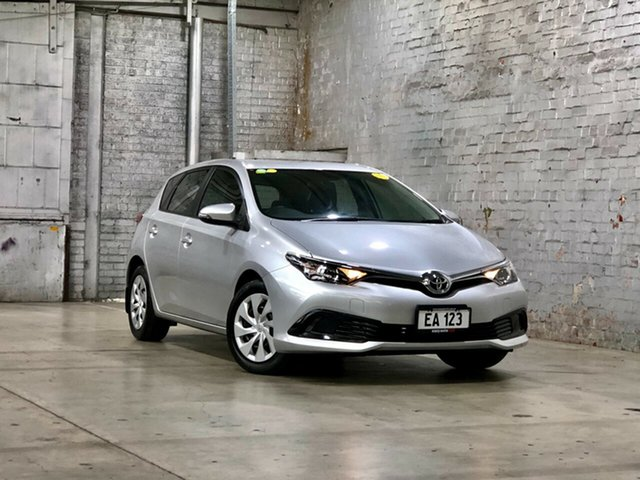 Used Toyota Corolla ZRE182R Ascent S-CVT Mile End South, 2018 Toyota Corolla ZRE182R Ascent S-CVT Silver 7 Speed Constant Variable Hatchback