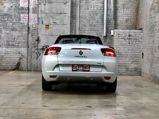 2015 Renault Megane III E95 Phase 2 GT-Line Cpe Cabrio White 6 Speed Constant Variable Convertible