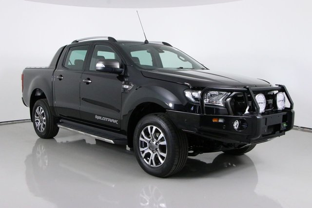 Used Ford Ranger PX MkII Wildtrak 3.2 (4x4) Bentley, 2015 Ford Ranger PX MkII Wildtrak 3.2 (4x4) Black 6 Speed Manual Dual Cab Pick-up