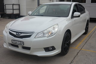 2012 Subaru Liberty B5 MY12 2.5i AWD White 6 Speed Manual Sedan.