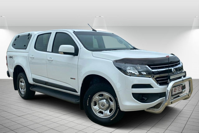 Used Holden Colorado RG MY17 LS Pickup Crew Cab Hervey Bay, 2017 Holden Colorado RG MY17 LS Pickup Crew Cab Summit White 6 Speed Sports Automatic Utility